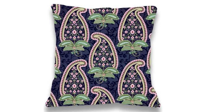 """Dana Cushion Cover (Aqua, 41 x 41 cm  (16"""" X 16"""") Cushion Size) by Urban Ladder - Front View Design 1 - 323196"""