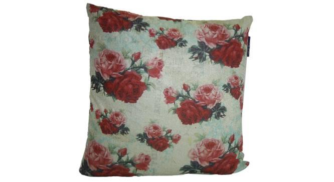 "Tami Cushion Cover (Brown, 41 x 41 cm  (16"" X 16"") Cushion Size) by Urban Ladder - Front View Design 1 - 323216"