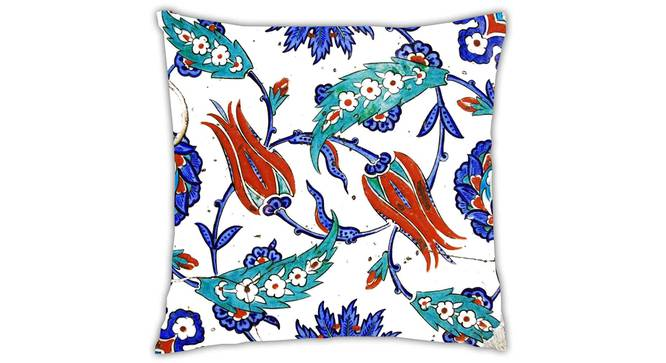 "Burton Cushion Cover (41 x 41 cm  (16"" X 16"") Cushion Size) by Urban Ladder - Front View Design 1 - 323240"