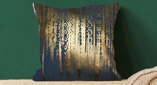 """Joann Cushion Cover (Green, 41 x 41 cm  (16"""" X 16"""") Cushion Size) by Urban Ladder - Design 1 Full View - 323263"""