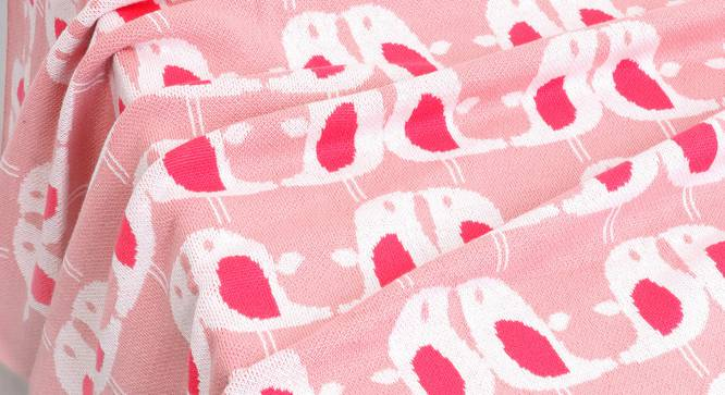 Lovey Dovey Blanket by Urban Ladder - Design 1 Details - 323416
