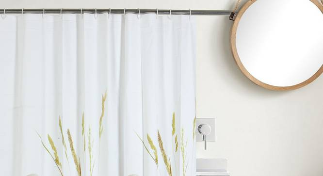 """Ramos Curtain (178 x 198 cm(70"""" x 78"""") Curtain Size) by Urban Ladder - Front View Design 1 - 323482"""