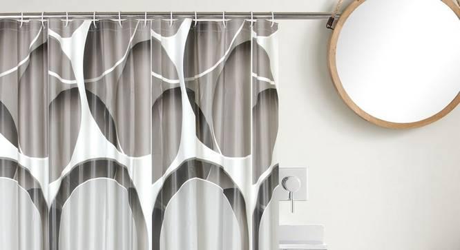 "Meyer Curtain (178 x 198 cm(70"" x 78"") Curtain Size) by Urban Ladder - Design 1 Close View - 323492"