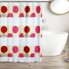 "Katie Curtain (178 x 198 cm(70"" x 78"") Curtain Size) by Urban Ladder - Design 1 Full View - 323496"