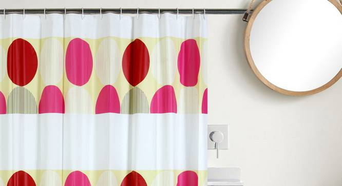 "Katie Curtain (178 x 198 cm(70"" x 78"") Curtain Size) by Urban Ladder - Design 1 Full View - 323496"