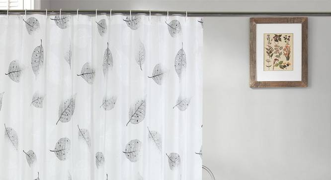 "Angie Curtain (178 x 198 cm(70"" x 78"") Curtain Size) by Urban Ladder - Design 1 Full View - 323497"