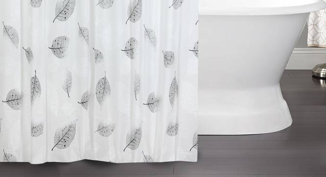 "Angie Curtain (178 x 198 cm(70"" x 78"") Curtain Size) by Urban Ladder - Front View Design 1 - 323499"