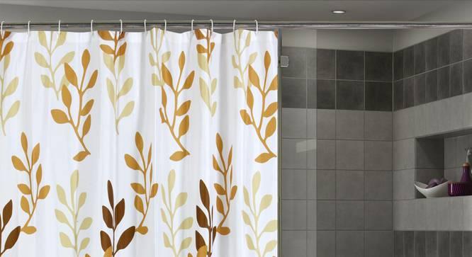 "Gloria Curtain (178 x 198 cm(70"" x 78"") Curtain Size) by Urban Ladder - Front View Design 1 - 323506"