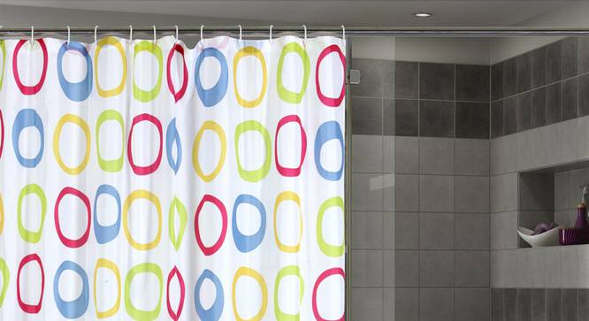 "Zachary Curtain (178 x 198 cm(70"" x 78"") Curtain Size) by Urban Ladder - Design 1 Full View - 323515"