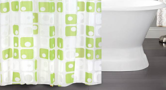 """Alicia Curtain (178 x 198 cm(70"""" x 78"""") Curtain Size) by Urban Ladder - Front View Design 1 - 323521"""