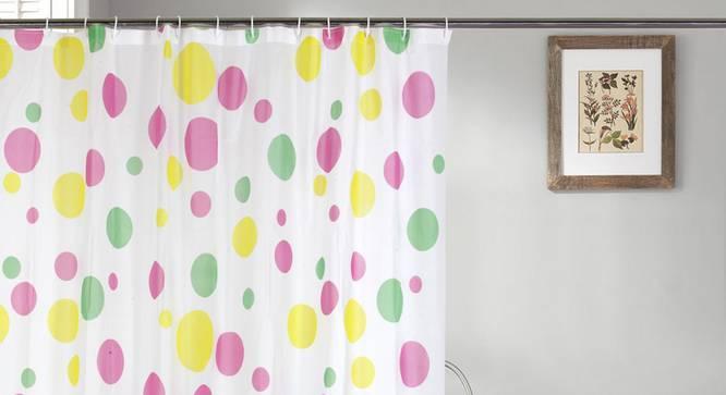 "Dora Curtain (178 x 198 cm(70"" x 78"") Curtain Size) by Urban Ladder - Design 1 Full View - 323525"