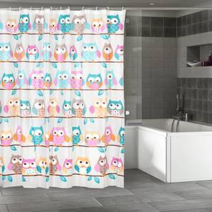 """Lynn Curtain (178 x 198 cm(70"""" x 78"""") Curtain Size) by Urban Ladder - Design 1 Full View - 323530"""