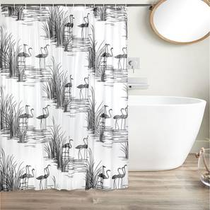 """Perry Curtain (178 x 198 cm(70"""" x 78"""") Curtain Size) by Urban Ladder - Design 1 Full View - 323557"""