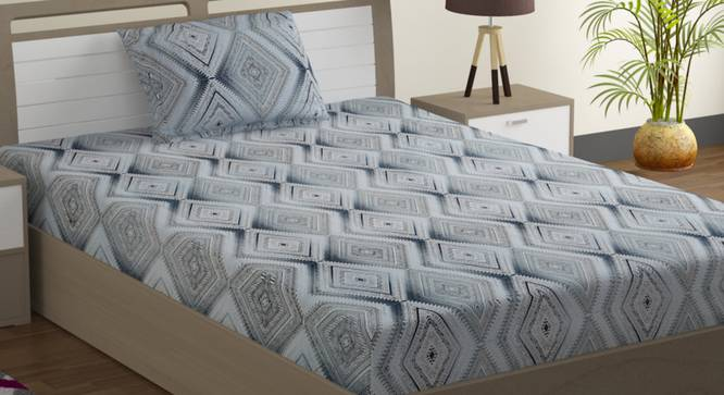 Alexis Bedsheet Set (Single Size) by Urban Ladder - Design 1 Full View - 323562