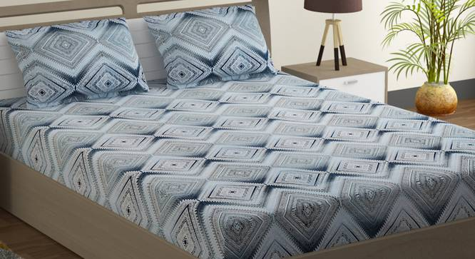 Alexis Bedsheet Set (Double Size) by Urban Ladder - Design 1 Full View - 323567
