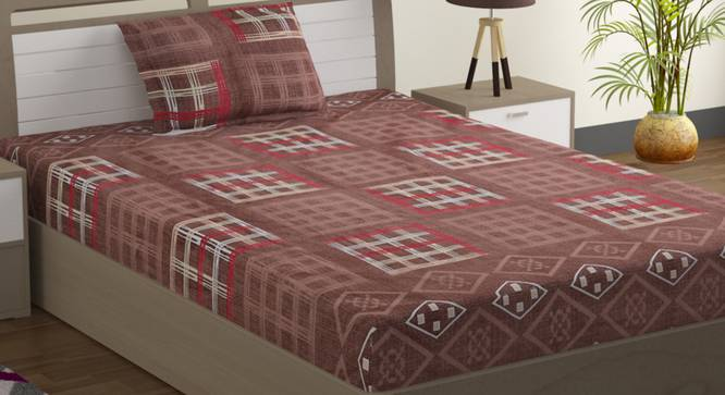 Anne Bed Sheet Set (Single Size) by Urban Ladder - Design 1 Full View - 323582