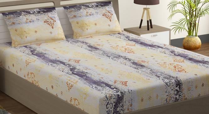 Ebony Bedsheet Set (Double Size) by Urban Ladder - Design 1 Full View - 323607