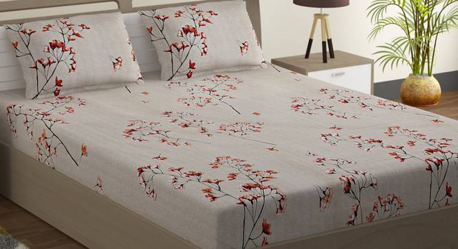 Francis Bedsheet Set (Double Size) by Urban Ladder - Design 1 Full View - 323627