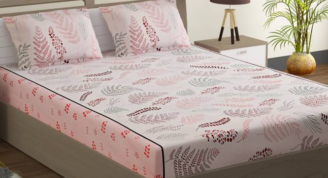 Jay Bedsheet Set (Double Size) by Urban Ladder - Design 1 Full View - 323664