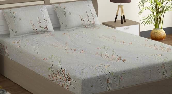 Lance Bedsheet Set (Double Size) by Urban Ladder - Design 1 Full View - 323714