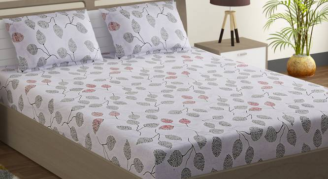 Leona Bedsheet Set (Double Size) by Urban Ladder - Design 1 Full View - 323724