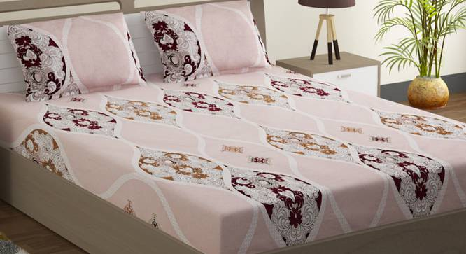 Lula Bedsheet Set (Double Size) by Urban Ladder - Design 1 Full View - 323774