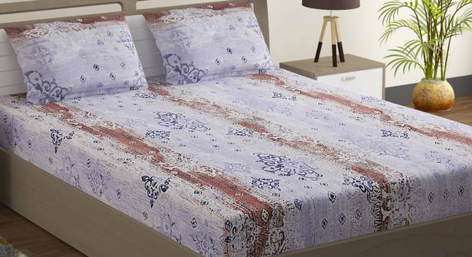 Sarah Bedsheet Set (King Size) by Urban Ladder - Design 1 Full View - 323849