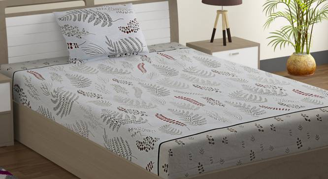 Shelly Bedsheet Set (Single Size) by Urban Ladder - Design 1 Full View - 323859