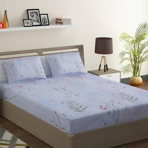 Welch bedsheet set blue grey king normal lp