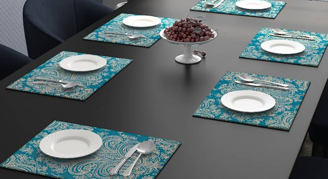Lester Table Mat (Turquoise) by Urban Ladder - Design 1 Full View - 323939