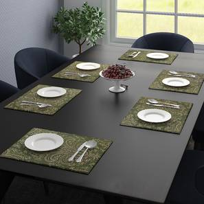 Lester Table Mat (Green) by Urban Ladder - Design 1 Full View - 323949