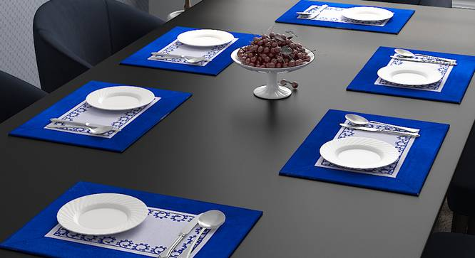 Winston Table Mat (Navy) by Urban Ladder - Design 1 Full View - 323959