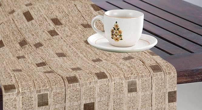 Sheri Table Runner (Beige) by Urban Ladder - Design 1 Full View - 324038