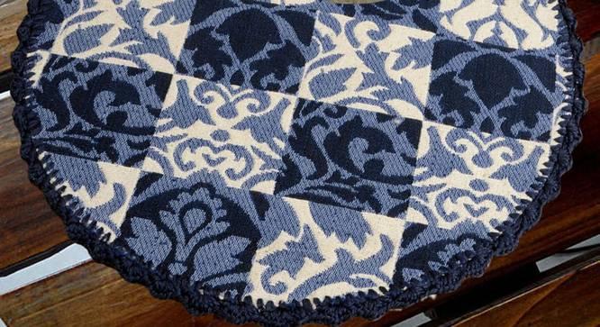 Logan Table Mat (Blue) by Urban Ladder - Design 1 Full View - 324078