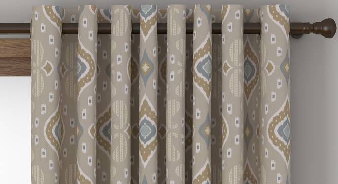 "Mayfair Door Curtains - Set Of 2 (112 x 274 cm  (44"" x 108"") Curtain Size) by Urban Ladder - Front View Design 1 - 324329"