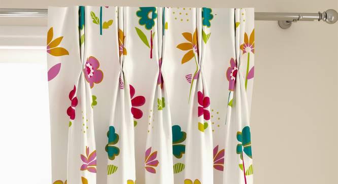 "Wonderland Window Curtains - Set Of 2 (112 x 152 cm  (44"" x 60"") Curtain Size) by Urban Ladder - Front View Design 1 - 324862"