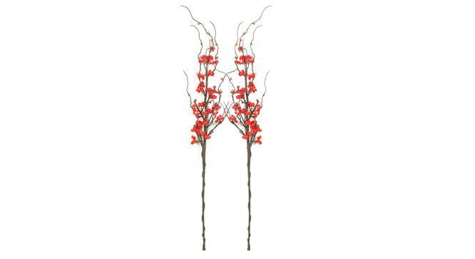 Garcia Artificial Flower (Red) by Urban Ladder - Front View Design 1 - 325341
