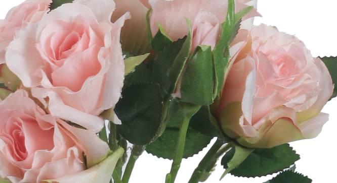 Allen Artificial Flower (Pink) by Urban Ladder - Cross View Design 1 - 325375