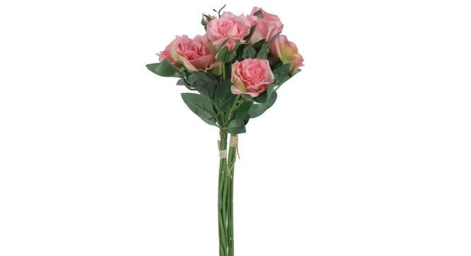 Allen Artificial Flower (Pink) by Urban Ladder - Front View Design 1 - 325377