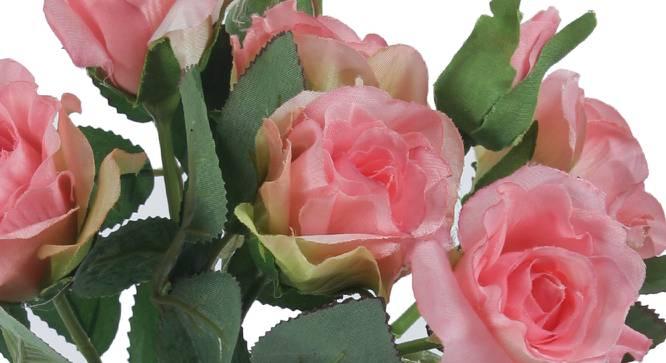 Allen Artificial Flower (Pink) by Urban Ladder - Cross View Design 1 - 325378