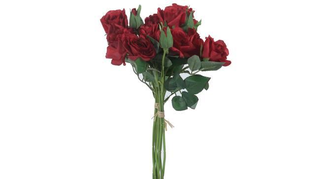 Allen Artificial Flower (Red) by Urban Ladder - Front View Design 1 - 325381