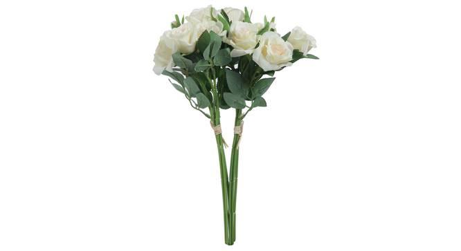 Allen Artificial Flower (White) by Urban Ladder - Front View Design 1 - 325384