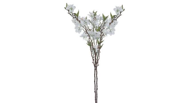 Debra Artificial Flower (White) by Urban Ladder - Front View Design 1 - 325398