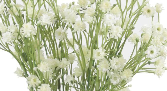 Jones Artificial Flower (Cream) by Urban Ladder - Cross View Design 1 - 325423