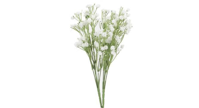 Jones Artificial Flower (White) by Urban Ladder - Front View Design 1 - 325425
