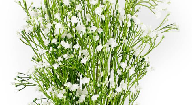 Harold Artificial Flower (White) by Urban Ladder - Cross View Design 1 - 325429