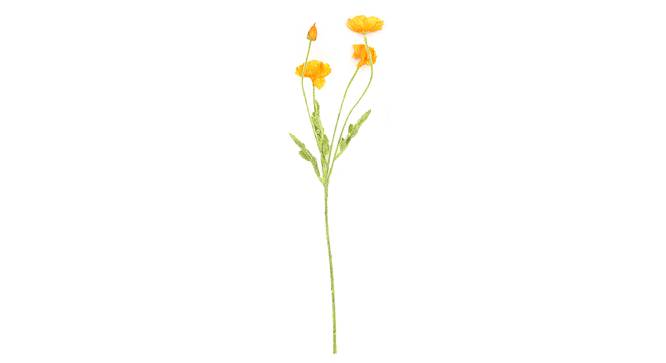 Ward Artificial Flower (Yellow) by Urban Ladder - Front View Design 1 - 325446