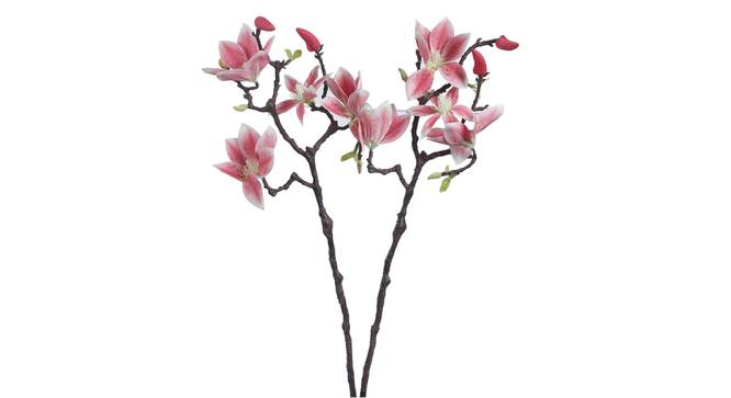 Rosa Artificial Flower (Pink) by Urban Ladder - Front View Design 1 - 325457