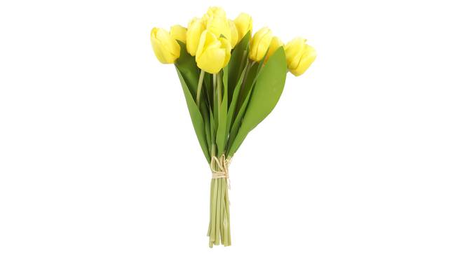Ruby Artificial Flower (Yellow) by Urban Ladder - Front View Design 1 - 325469