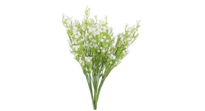 Norma Artificial Flower (White) by Urban Ladder - Front View Design 1 - 325472